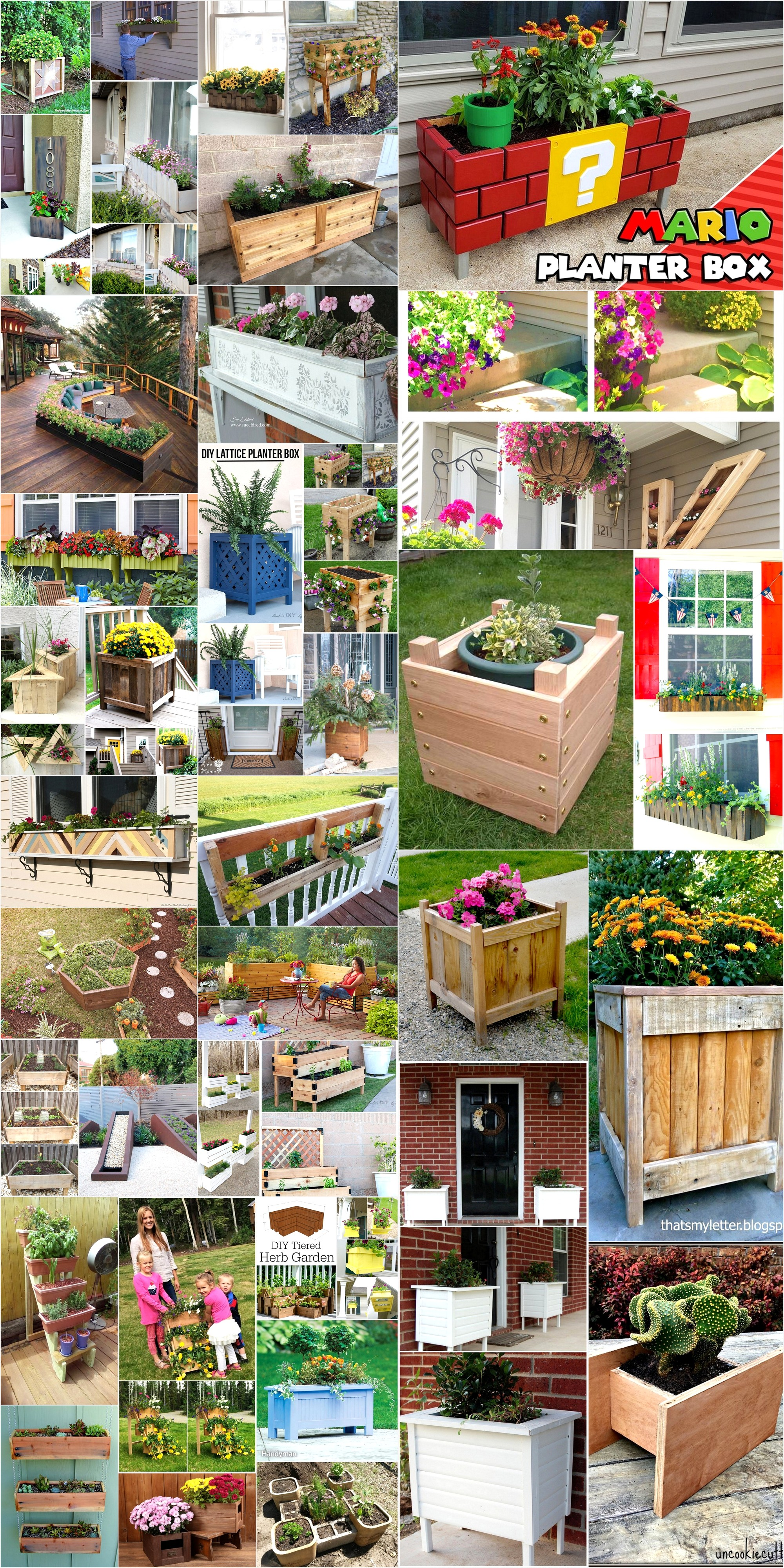 Personalized Diy Planter Box Ideas For Your Home How To Make Diy